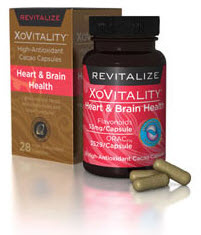 Cacao Benefits - Xocai XoVitality Heart and Brain Anti Aging Capsules