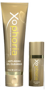 Xocai Xophoria Anti Aging Skin Gel Cleanser and Serum